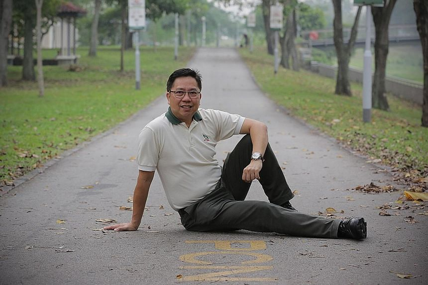 NParks director Yeo Meng Tong, one of the pioneers who started the Park Connector Network 25 years ago.