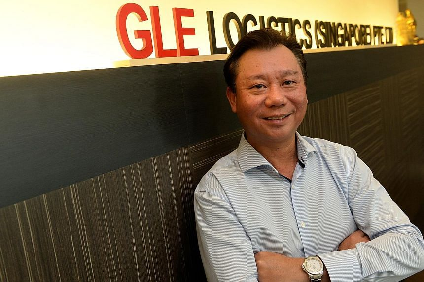 Mr Ken Ngan, managing director of GLE Logistics, said his firm is looking at new markets and the fast-growing e-commerce sector.