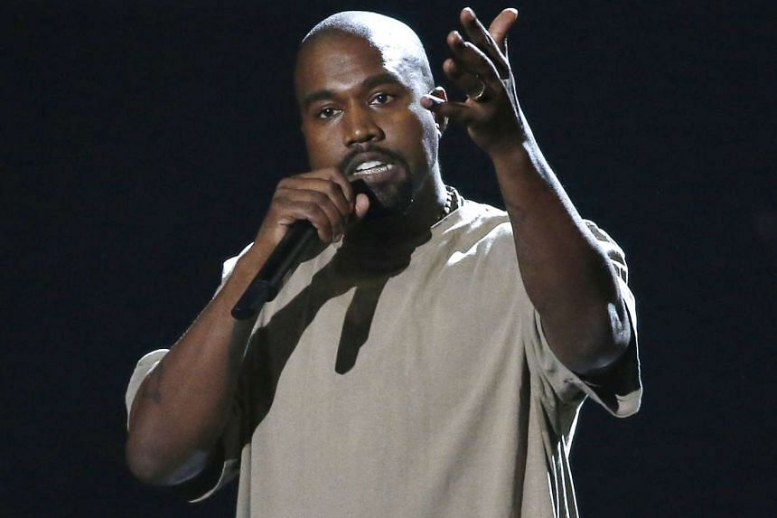 Entertainer Kanye West accepts the Video Vanguard Award at the 2015 MTV Video Music Awards in Los Angeles on Aug 30.
