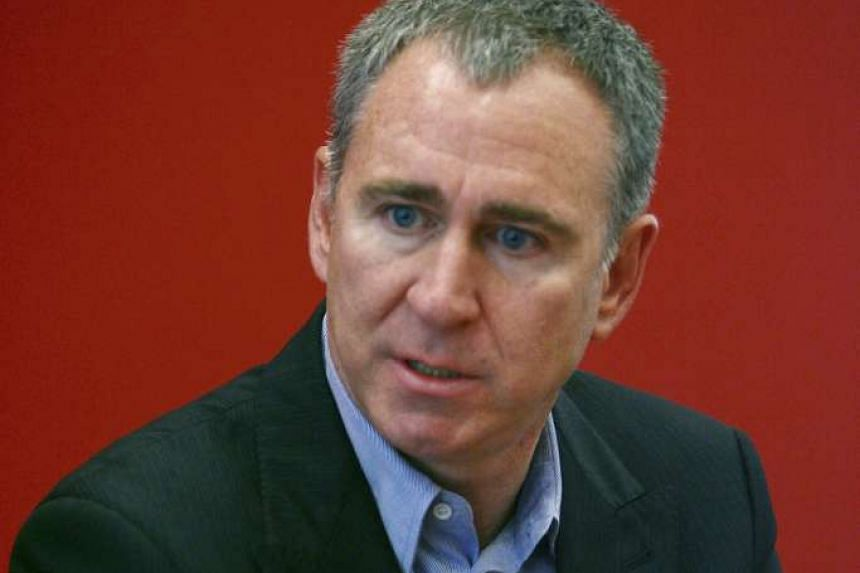 Chicago hedge fund billionaire Kenneth Griffin is said to earn about US$68.5 million (S$95.6 million) a month after taxes. He has given to groups backing Republican presidential candidates.