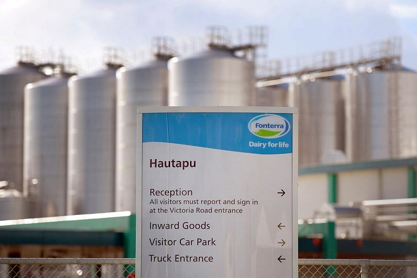 New Zealand dairy giant Fonterra's Hautapu dairy factory near the rural town of Cambridge, some 150-km south of Auckland.