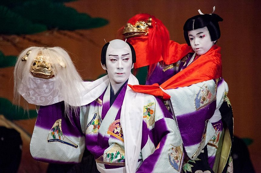 Kabuki, derived from the Japanese verb kabuku, which means to slant or tilt, is a traditional and melodramatic form of dance and theatre.