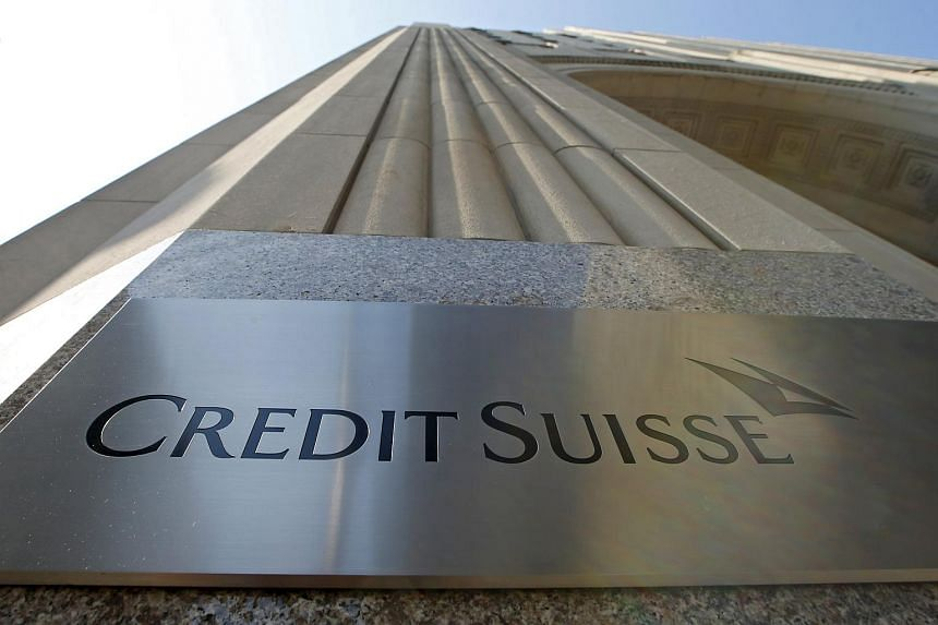 A Credit Suisse sign is seen on the exterior of their Americas headquarters in Manhattan, New York, on  Sept 1, 2015.