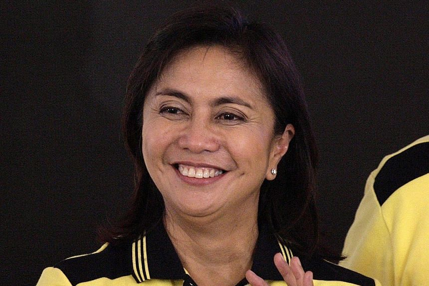 Mrs Leni Robredo (above) is riding on a legacy platform: her late husband's.