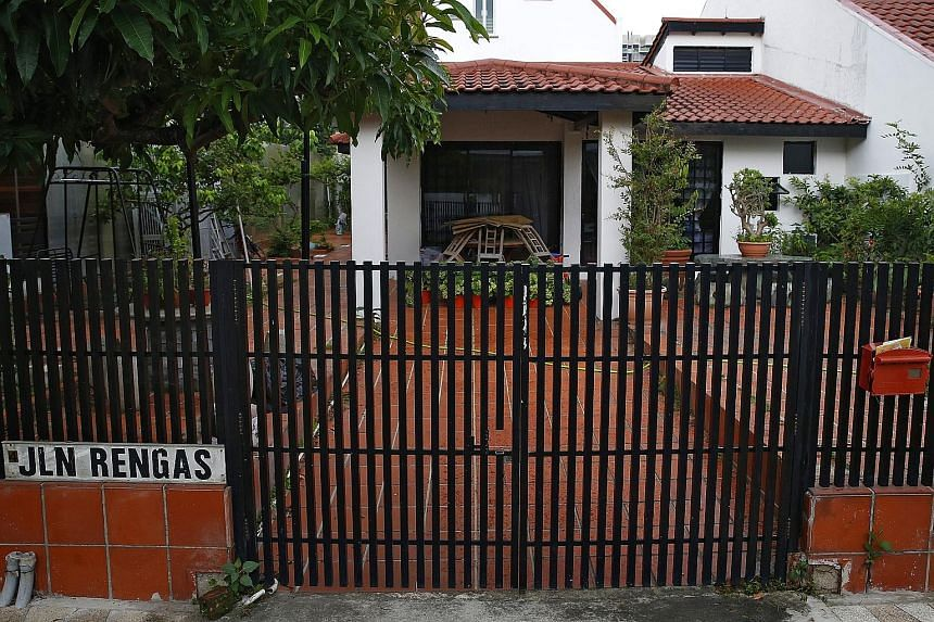 Indonesian maid Astrilia Agustin was hired to work in Madam Tang Lee Sung's home in Jalan Rengas (above), but was instead asked to go to Johor Baru to take care of cats in a rented house. Madam Tang was fined in April for not paying the maid for over