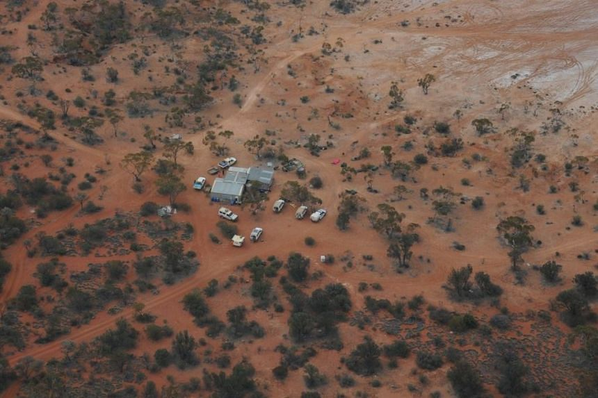 Goldfields Police superintendent Andy Greatwood said the man had been sitting under the same tree for the last two days, with no water during his ordeal.