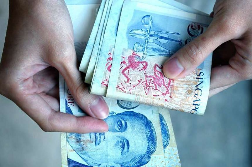 The Singapore dollar eased 0.2 per cent to 1.4019 per US dollar as of 2.10pm on Tuesday, Oct 13, 2015, as the Monetary Authority of Singapore is predicted to ease monetary policy this week.