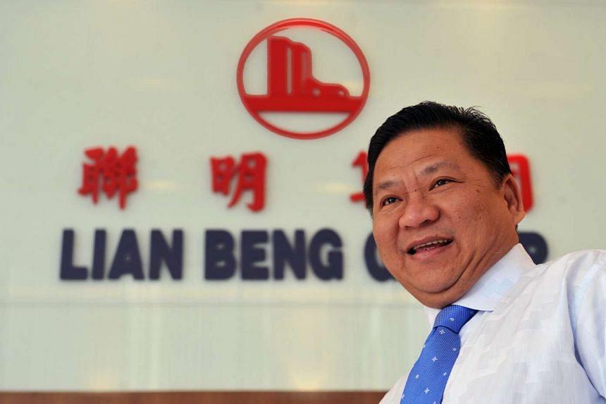 Lian Beng Group's chairman and managing director, Mr Ong Pang Aik.