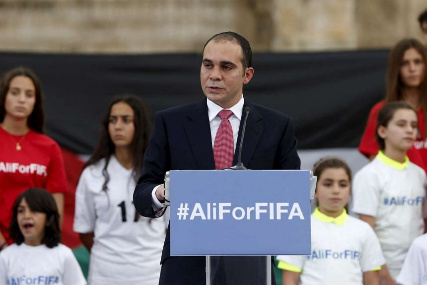 Prince Ali Bin Al Hussein of Jordan speaks at the Roman Amphitheatre area in downtown Amman, Jordan, on Sept 9, 2015.