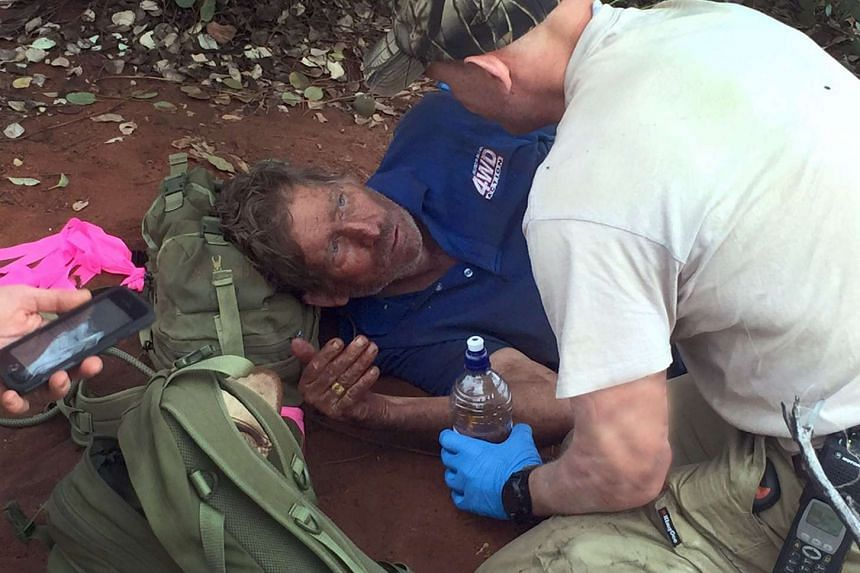 A handout photo taken and released by the Western Australia Police on Oct 13, 2015, shows Mr Reg Foggerdy ,62, who disappeared on Oct 7 heading to the Shooter's Shack camp near Laverton in the West Australian Goldfields, some 950km north-east of Pert