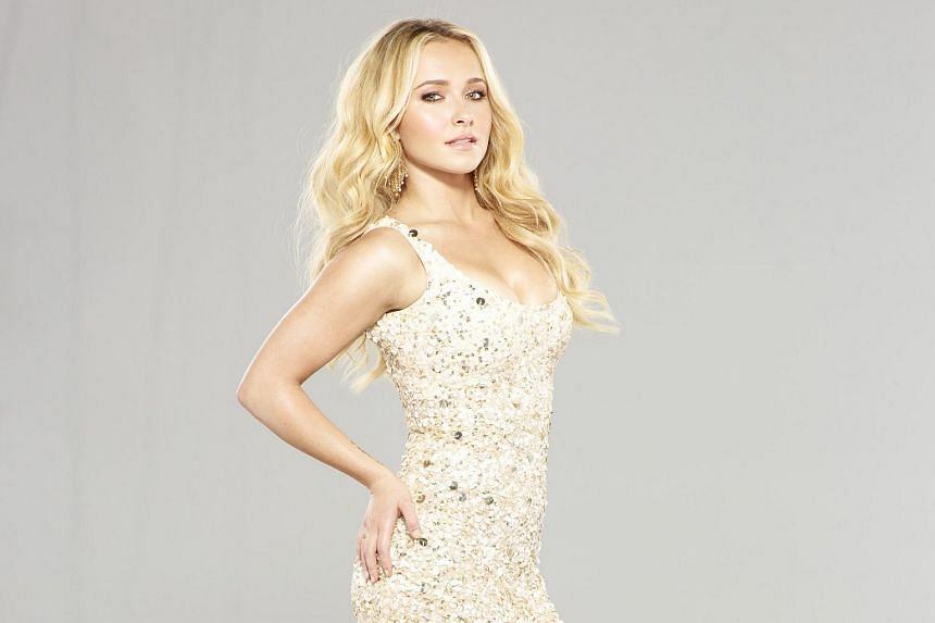 American actress Hayden Panettiere.