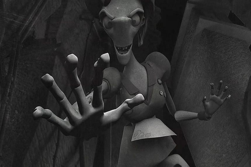 Ms Kong Yee Rou's animated short film, Need A Hand?!