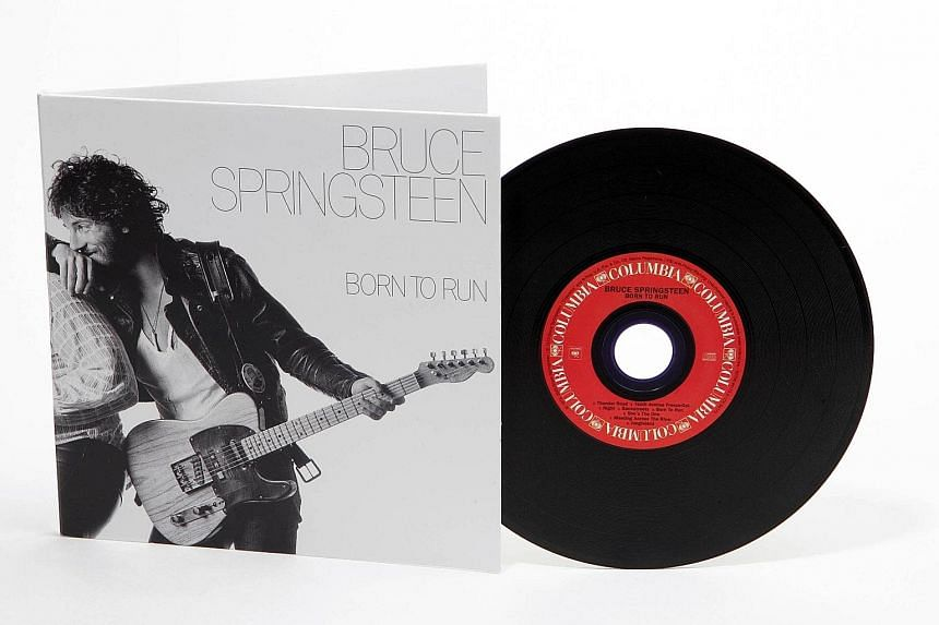 The album cover of Bruce Springsteen's Born To Run, showing the singer in a candid moment, won art director John Berg one of his four Grammy Awards.