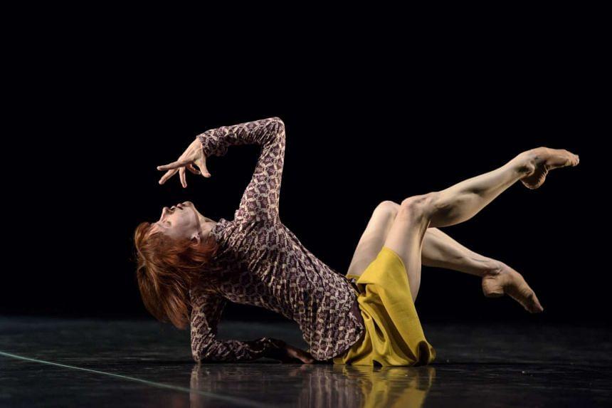 Acclaimed dancer Sylvie Guillem.