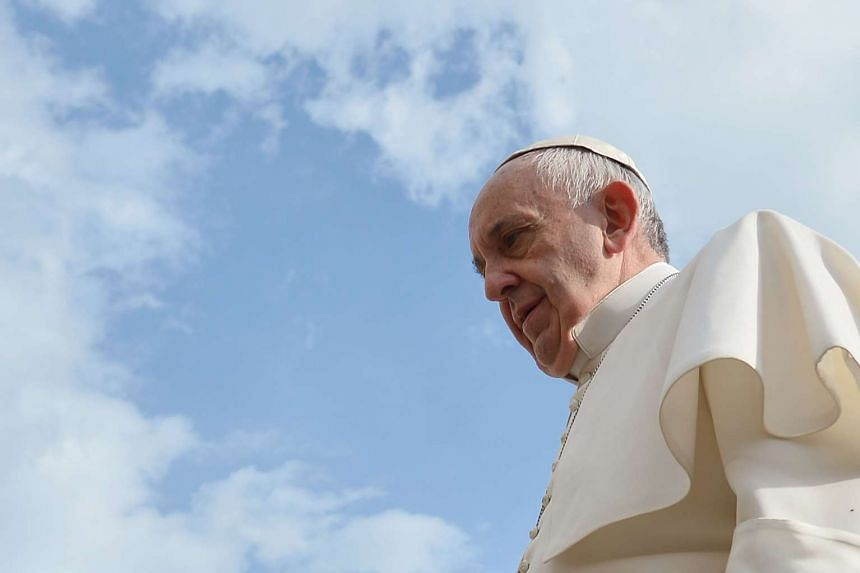 Pope Francis apologised Wednesday  for a series of scandals which have recently shaken the city of Rome and the Vatican.