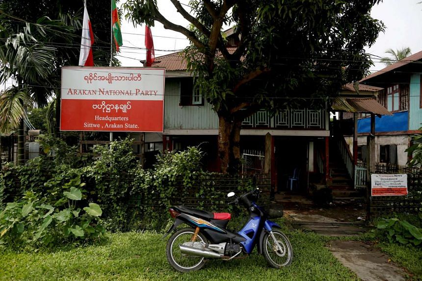 Chinese officials have offered support to Aye Maung, chairman of Myanmar's Arakan National Party, an organisation of ethnic Rakhine Buddhists that is riding a tide of anti-Muslim sentiment.