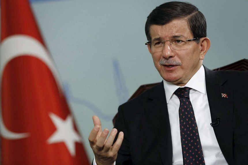 """Turkish Prime Minister Ahmet Davutoglu has been ridiculed after he said that there was """"360 degrees of difference"""" between Turkey's brand of Islam and that of ISIS."""