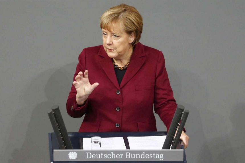 German Chancellor Angela Merkel said on Thursday that Europe had no chance of overcoming its biggest refugee crisis without cooperation with Turkey.