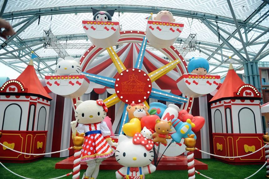 Hello Kitty Go Around, a carnival featuring the mouthless-feline, will open on Oct 16 and last for 26 days.