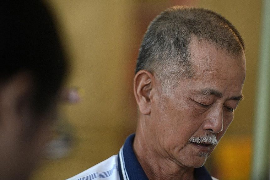Mr Lim, father of Ms Lim Siaw Chian.