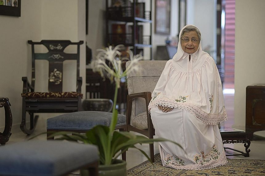 """As a child, Mrs Rosy Nakhooda was told by her mother that she had """"to stand on your own feet; you don't have a choice. You have to have an education"""". And she did - going on to become one of Singapore's pioneering economists, among other achievements"""