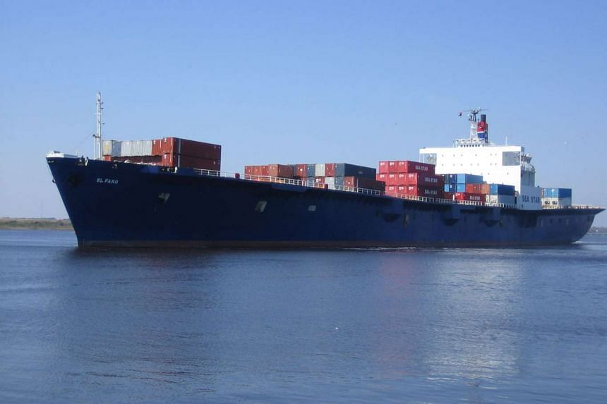 The El Faro El Faro vanished during Hurricane Joaquin with 33 people aboard.