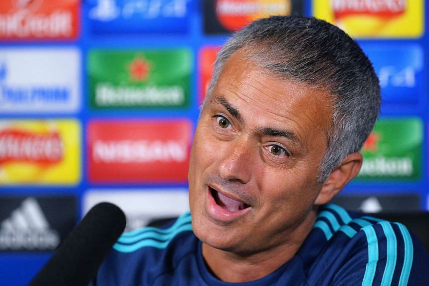 """Mourinho accused officials of being """"afraid"""" to award his team penalties."""