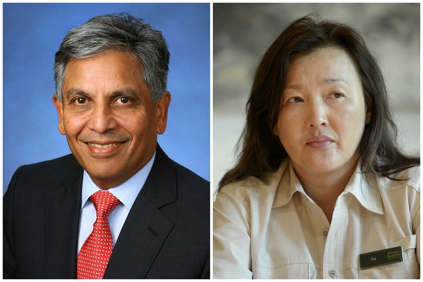 AIG Singapore announced on Thusrday (Oct 15) the appointment of its first independent directors, Shirish Apte (left) and Isabella Loh.