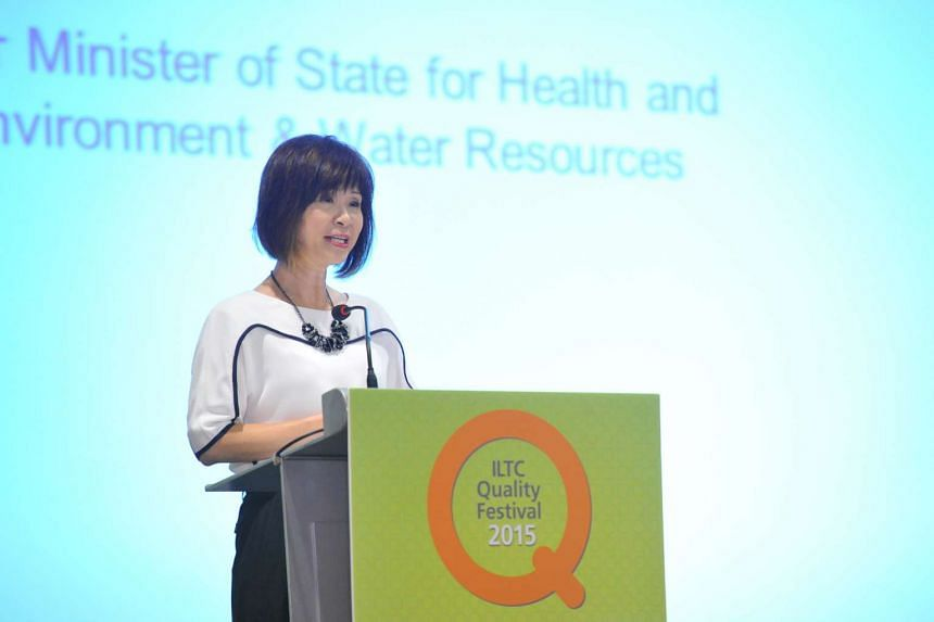 Senior Minister of State for Health and the Environment and Water Resources Dr Amy Khor graced the Intermediate and Long-Term Care (ILTC) Quality Festival  2015 organised by the Agency for Integrated Care on Oct 14, 2015.