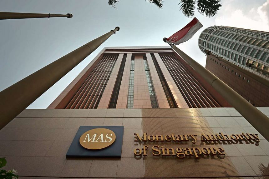 Exterior of the Monetary Authority of Singapore building.