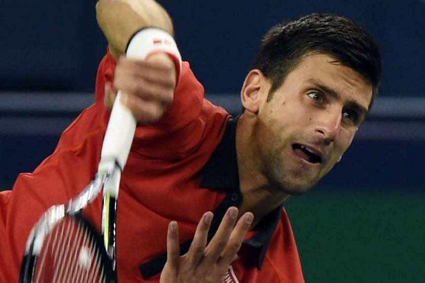 Novak Djokovic, who has 10 Grand Slam titles, says having something as lofty as Roger Federer's record of 17 Majors to aim for keeps him motivated to continue doing well in tournaments.