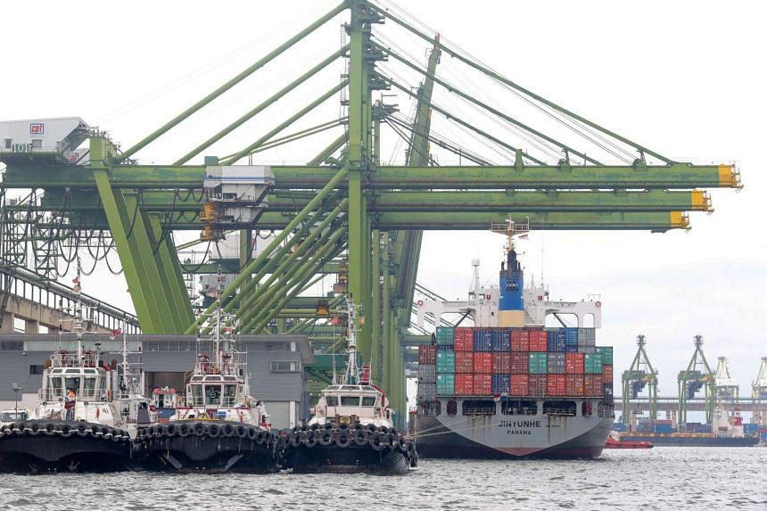 Singapore's non-oil domestic exports unexpectedly rose in September, confounding analysts who had expected shipments to contract by 3.8 per cent, for a third straight month of decline.