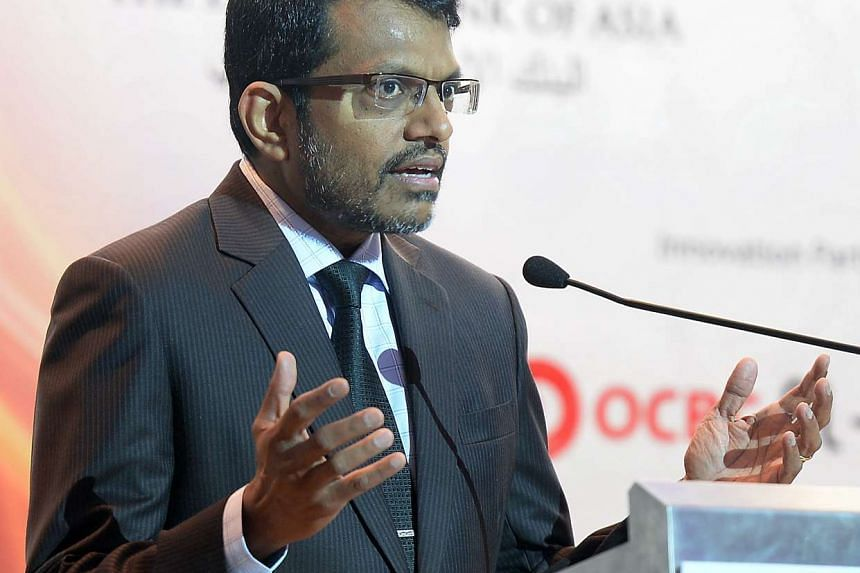MAS managing director Ravi Menon.