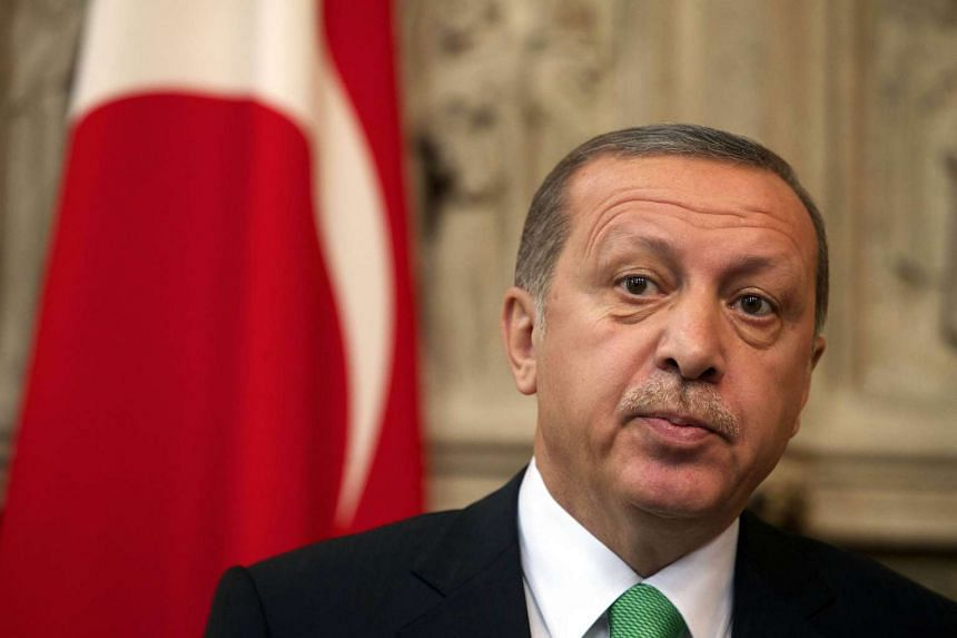 President Recep Tayyip Erdogan said on Friday, Oct 16, the European Union had woken up too late to Turkey's importance in stemming the flow of refugees from Syria.