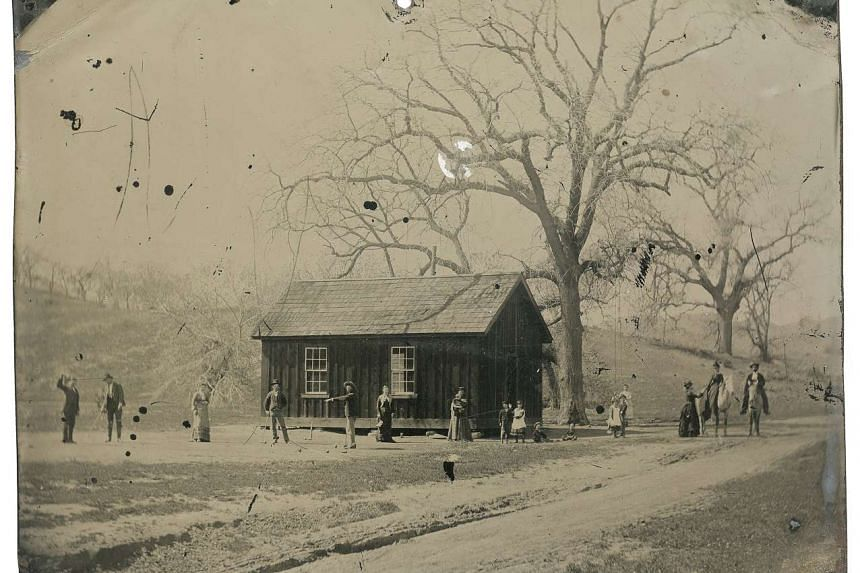 This tintype photograph of gunslinger Billy the Kid (fourth from left) playing croquet with accomplices from his gang has been valued at US$5 million.