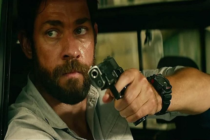 Set to release in January, 13 Hours: The Secret Soldiers Of Benghazi, which stars John Krasinski (above), focuses on real-life CIA security contractors who defied orders to defend a State Department compound and nearby CIA annexe in Benghazi.