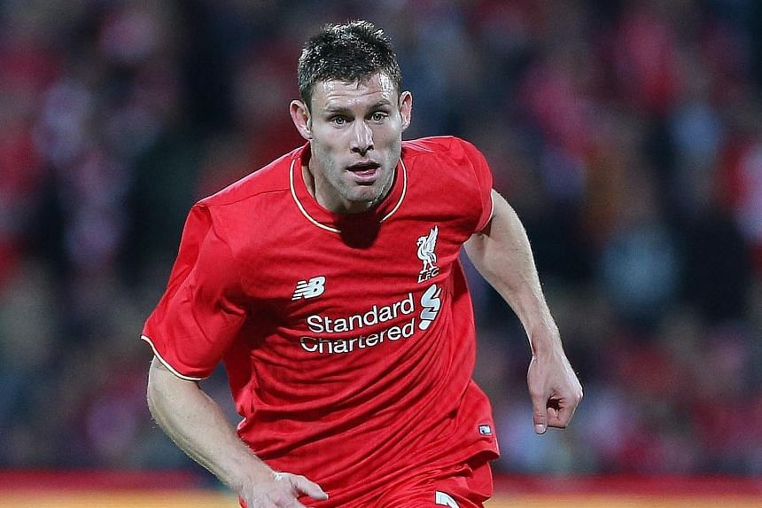 Top runners in each team - Liverpool's James Milner (above) and Tottenham Hotspur's Eric Dier.