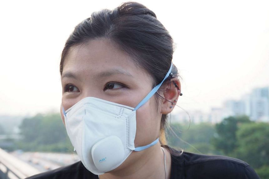 The Air+ Smart Mask is a lot cooler and more comfortable to wear than conventional haze masks.