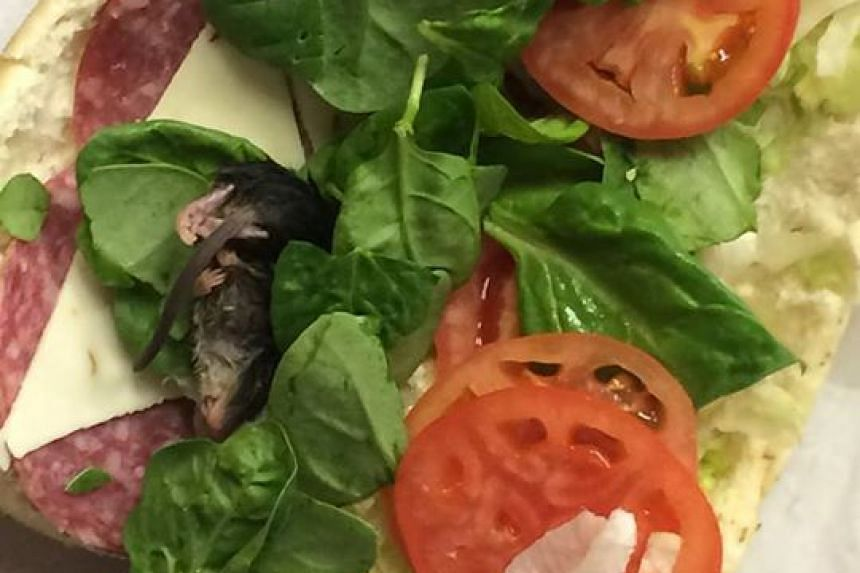 A man who ordered a Subway sandwich in Oregon was shocked when he got a rat nestled within the spinach on his Italian sub.
