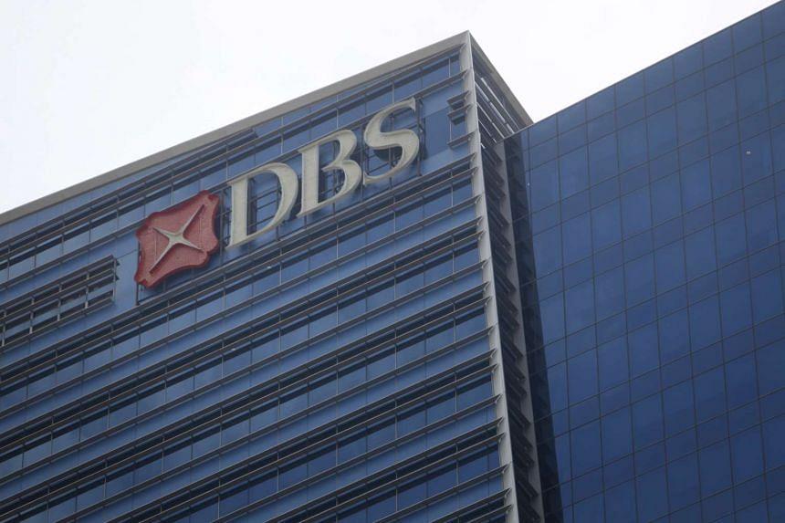 DBS at Marina Bay Financial Centre.