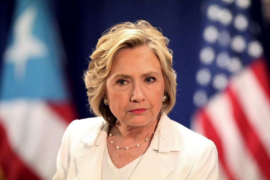 US Democratic presidential candidate Hillary Clinton attends a panel on healthcare in San Juan, Puerto Rico, on Sept 4, 2015.