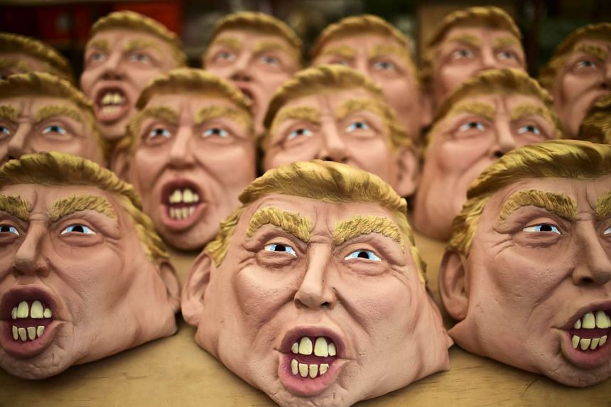Grupo Rev has made just 250 Trump masks so far and has yet to set a price.