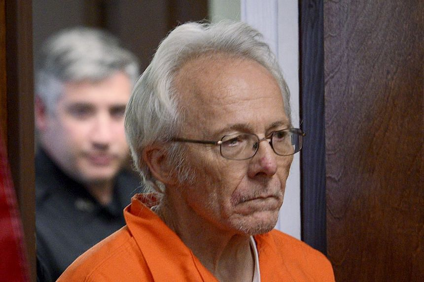 Bruce Leonard appearing at court in New Hartford, New York, on Oct 16, 2015.