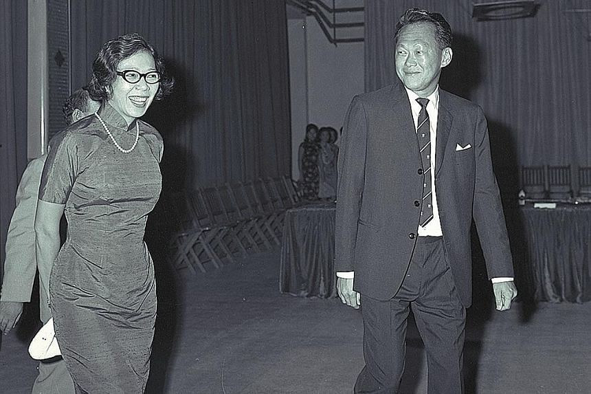 Mr and Mrs Lee Kuan Yew worked hard, along with Mr Dennis Lee, to get the Lee and Lee law firm off the ground. After becoming prime minister in 1959, Mr Lee persuaded some of the firm's partners to join him in politics.
