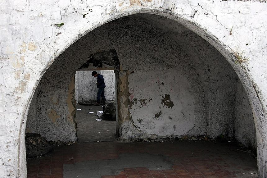 Joseph's Tomb, in the West Bank city of Nablus, is revered by ultra-Orthodox Jews. The Israeli army said that dozens of Palestinians have set fire to it.