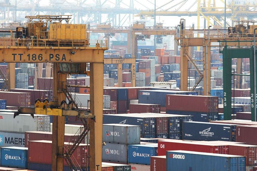 Singapore exports received a shot in the arm last month thanks to strong electronics shipments, surprising economists who had expected a much poorer showing given the slow global growth.