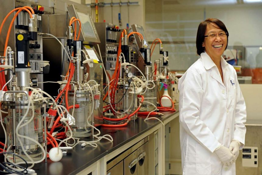 Professor Miranda Yap, seen in a file photo, had received the President's Science and Technology Medal in 2009. Family, colleagues and friends remembered Prof Yap for her love for people, life-long learning and durians.