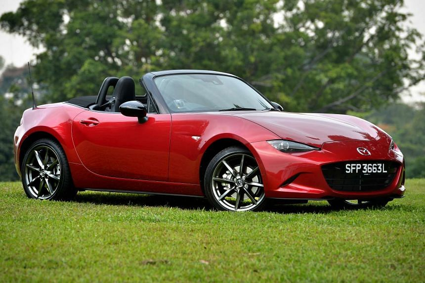 The new Mazda MX-5 is a compact beauty that drives with a relaxed sportiness.