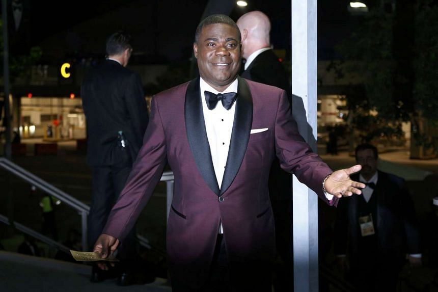 US actor Tracy Morgan attending the 67th Annual Primetime Emmy Awards Governors Ball in Los Angeles, California on Sept 20, 2015.