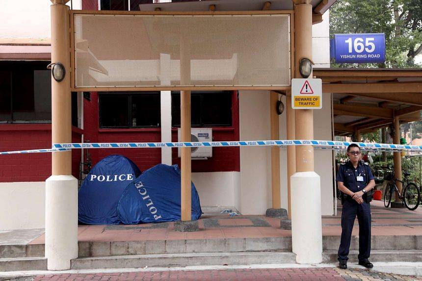 A four-year-old boy was found dead at the foot of Block 165 Yishun Ring Road on Oct 6, 2015.